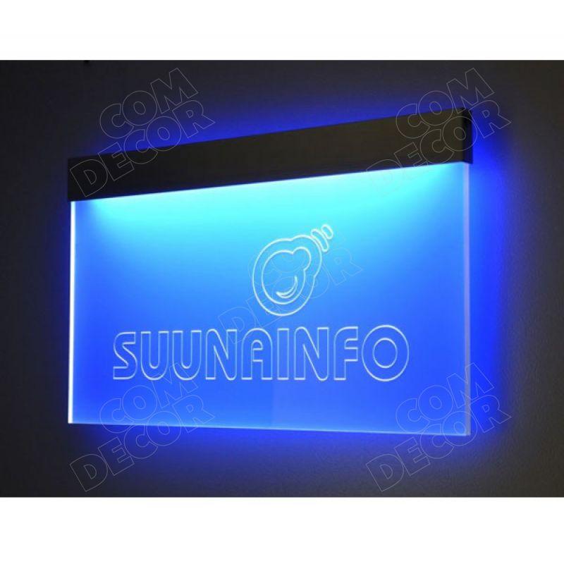 Neox valgustahvel / valgustatud viit