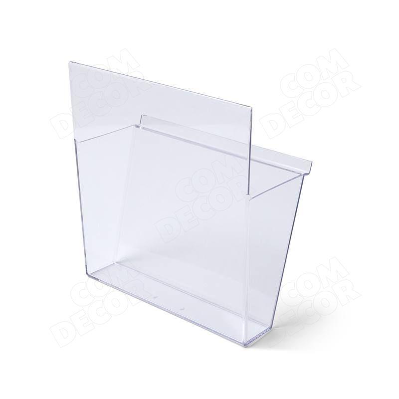 Plastikust (stüreen) trükiseriiul / -sahtel
