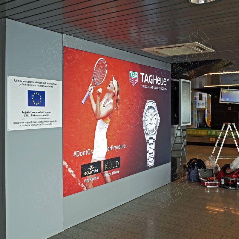 Valguskastid Tallinna Lennujaamas
