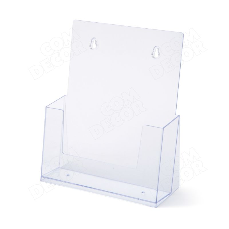 A4 brochure holder for table