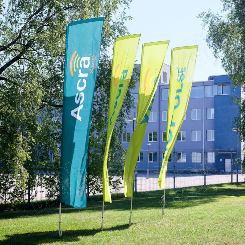 Block flags / beach flags / advertising flags