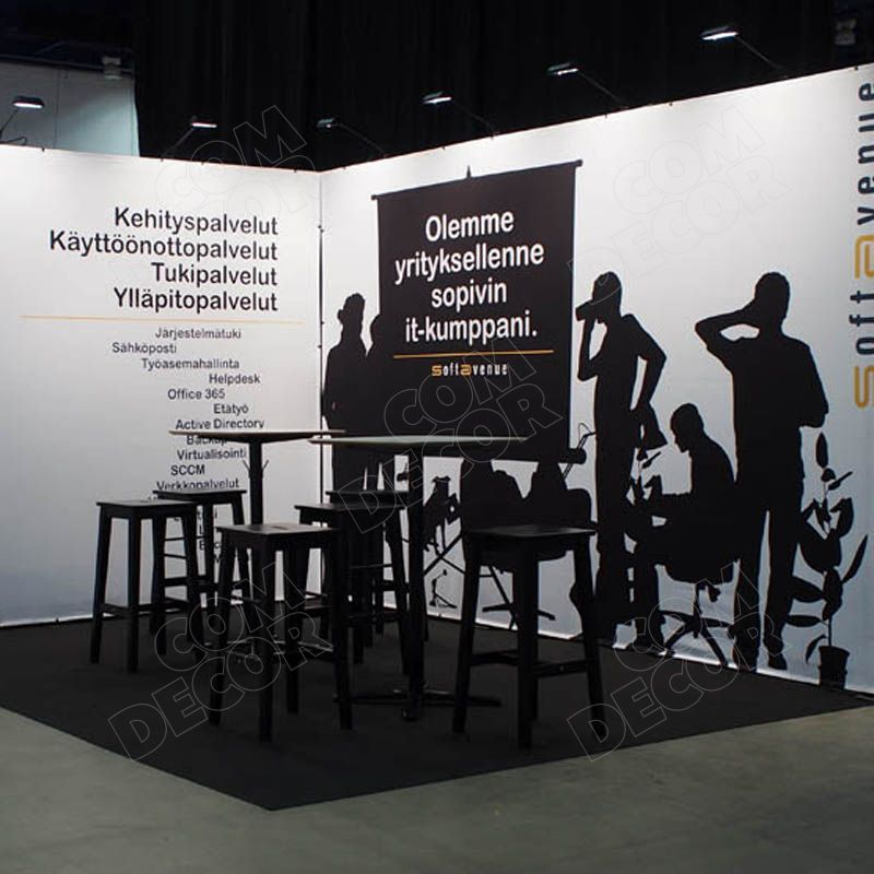 Exhibition stand / exhibition wall