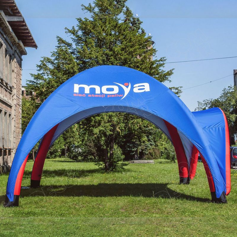 Inflatable tent / advertising tent