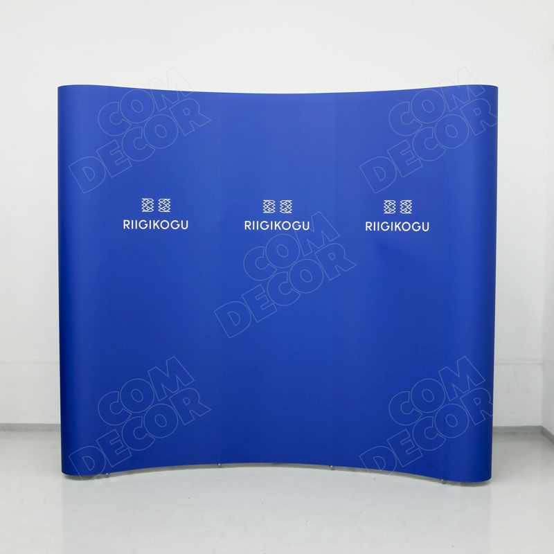 Pop-up stand photo background