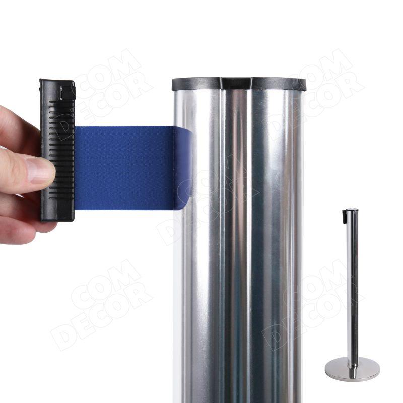 Queue belt barrier / stanchion