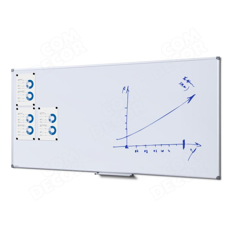 Whiteboard / magnetic board 180x90cm